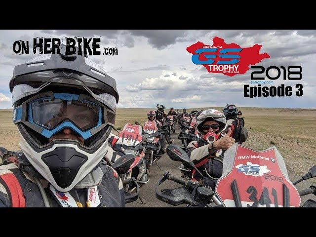 On Her Bike at the GS Trophy in Mongolia - Episode 3