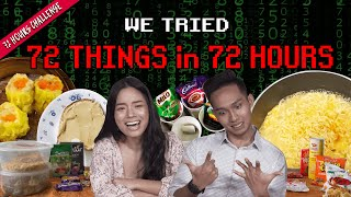 Eating 72 Things In 72 Hours   72 Hours Challenges   EP 25