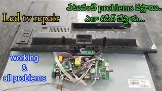 led tv repair | led tv working…