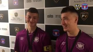 NFYL Championship Winners - Logan Fawcett & Ben Ramsey