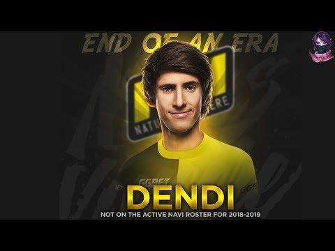 DENDI Tribute Movie 8 Years NaVi The end of an ERA by Time 2 Dota #dota2