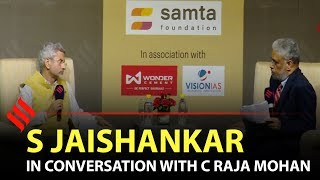 S Jaishankar In conversation with C Raja Mohan at RNG Lecture 2019