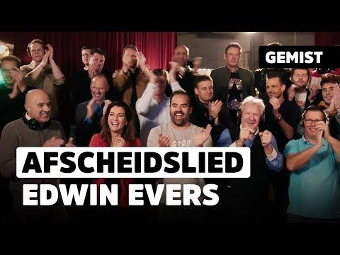 'Vrienden Van De Show', afscheidslied voor Edwin Evers | 538Gemist
