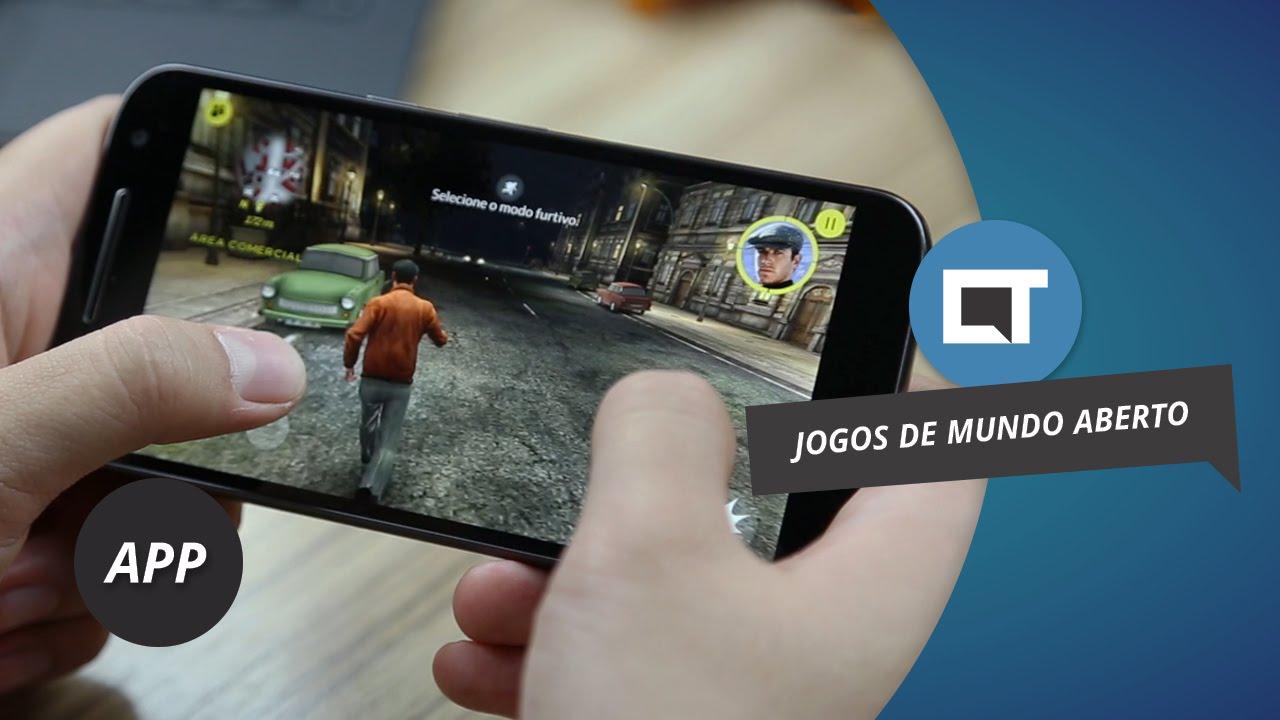 f4f7a20602 Os 10 melhores jogos mundo aberto para Android de 2016  DicaDeApp - YouTube
