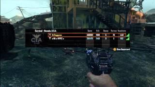 Round 42 Nuke Town Zombies Legit