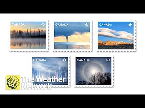 Canada Post Reveals Newest Stamps And Weather Fans Are In Love