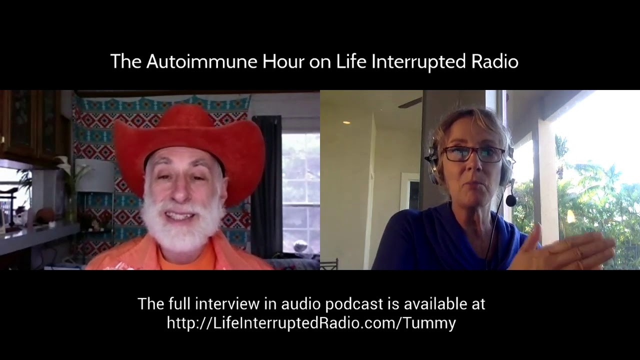 Autoimmune Hour #168 Keep Your Tummy Happy with Swami Tirtha and Sharon Sayler