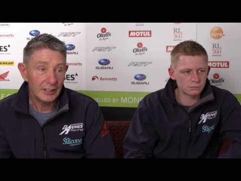John Holden describes the feeling of competing at the Isle of Man TT races