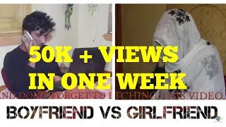 Kashmiri jokes Boyfriend vs Girlfriend Funny Video