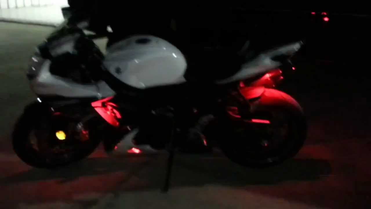 Motorcycle Led Kit >> The HID Factory under glow on 2011 Suzuki GSXR - YouTube
