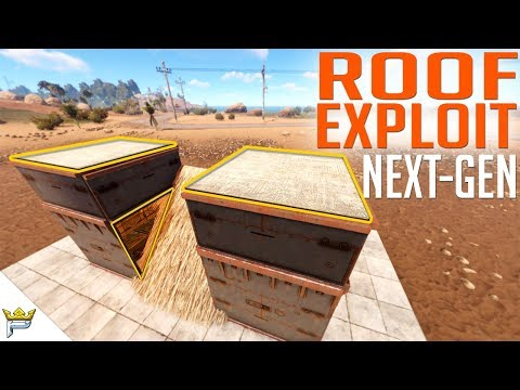 RUST ROOF EXPLOIT - Latest and Best Version | Base Build