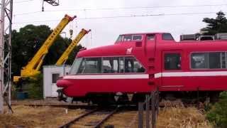 090915 名鉄パノラマカー 7000系 7011F 廃車回送
