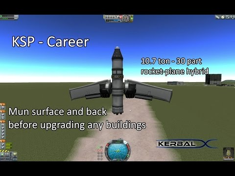 KSP - LowTech Mun Lander