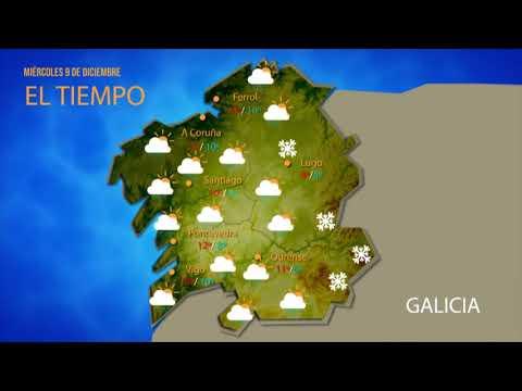 ¿Qué tiempo nos espera este miércoles en Ourense?