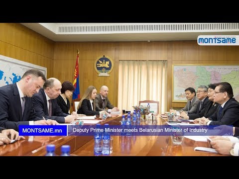 Deputy Prime Minister meets Belarusian Minister of Industry