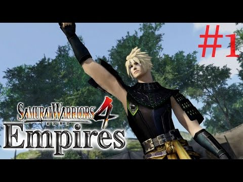 Samurai Warriors 4: Empires   Cloud Strife PS4 Walkthrough Part 1: Battle of Yamato {English, HD}