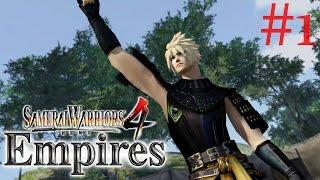 Samurai Warriors 4: Empires | Cloud Strife PS4 Walkthrough Part 1: Battle of Yamato {English, HD}