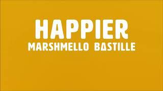 Marshmello feat. Bastille - Happier (Acapella)
