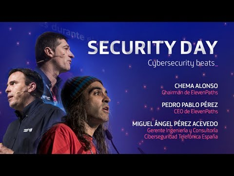 SD2017. Global Security Keynote. Chema Alonso, Pedro Pablo P