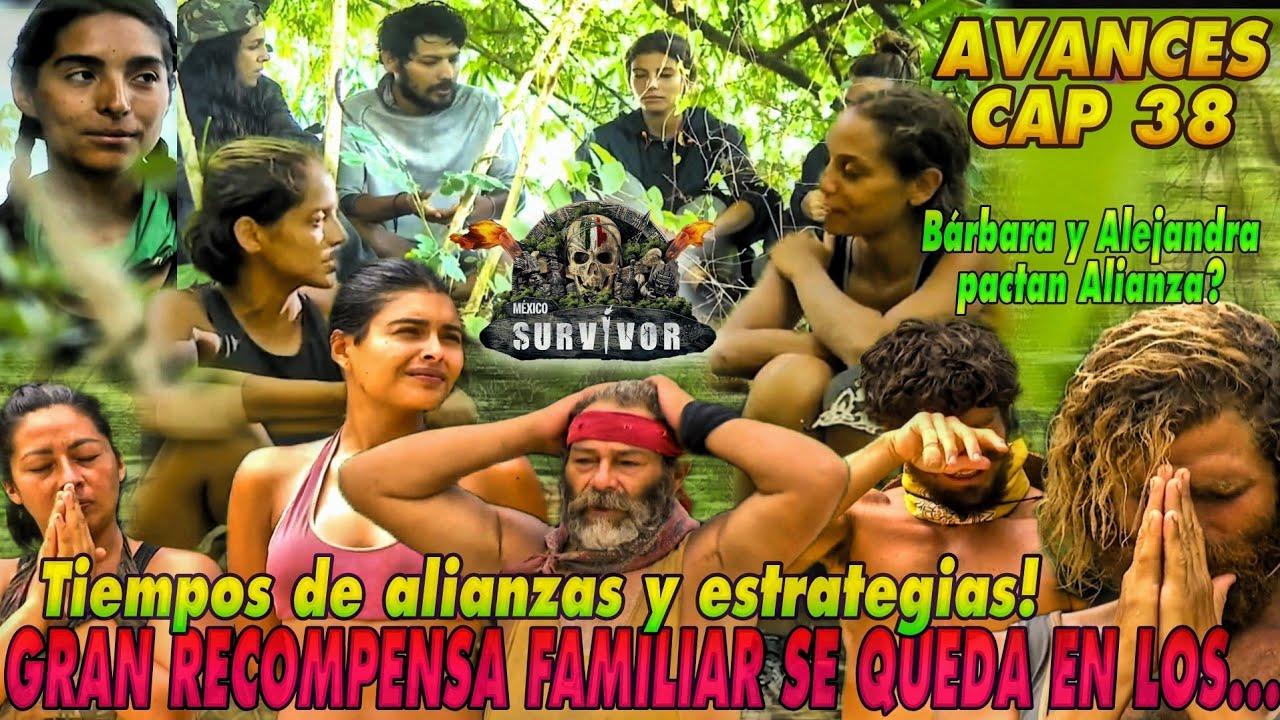 AVANCES CAP 38 Survivor MX | Tiempos  de Alianzas y Estrategias, RECOMPENSA  FAMILIAR VERDE?