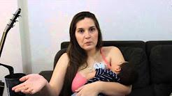 Bebê com refluxo