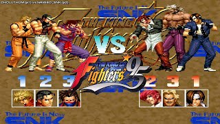 [Fightcade HD] - KOF 95 Online Match - DHOLLTHUM (Peru) vs. NAVEED_SNK (Germany)