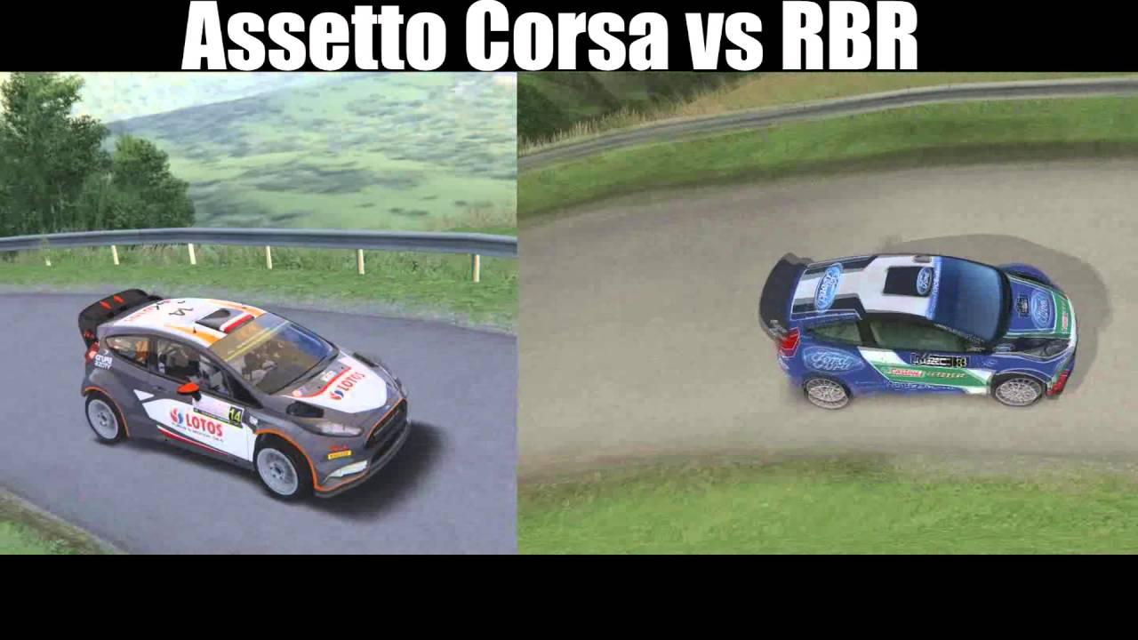 Assetto Corsa Vs Rbr Joux Plane Ford Fiesta Rs Wrc Clip Fail