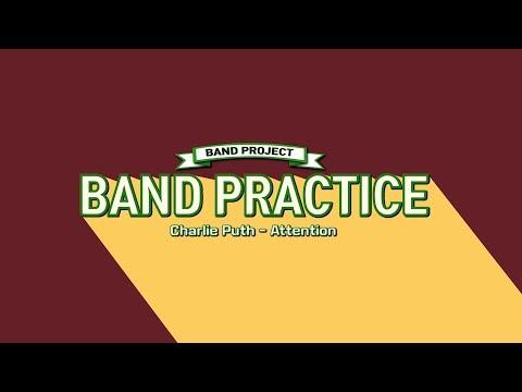 [밴드 프로젝트] Charlie Puth - Attention BAND PRACTICE