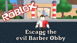 Roblox - Escape the evil Barber Obby - Alexander Bosko