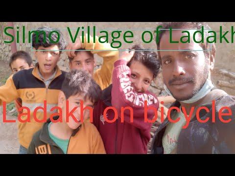 ladakh on bicycle  Ye sab bhag ku rahe hai mujhese dur village of Ladakh.. thumbnail