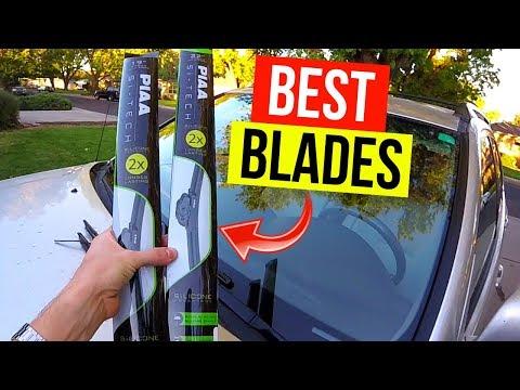 Best Windshield Wiper Blades. PIAA Silicone -Jonny DIY