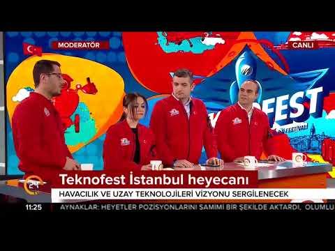 Teknofest 2018 için geri sayım başladı. (Canlı Yayın)
