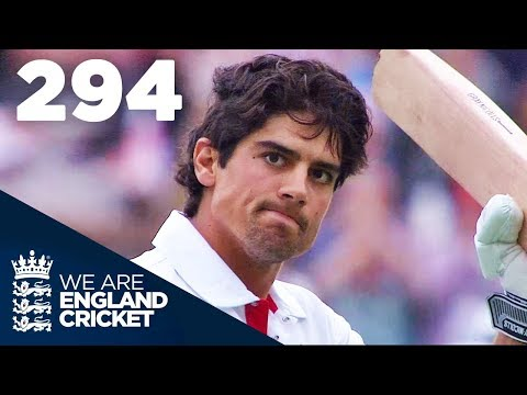 alastair-cook-hits-highest-ever-score-of-294- -england-v-india-2011---highlights