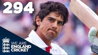 Alastair Cook Hits Highest Ever Score Of 294 | England v India 2011 - Highlights