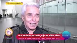 Luis Enrique Guzmán revela que su papá pidió disculpas... | Sale el Sol