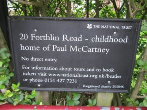 Paul McCartney's Childhood Home National Trust House (One Foot In The Past - 1998)