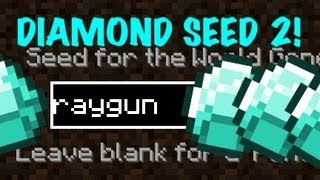 Minecraft Pocket Edition - Diamond Seed 2: raygun