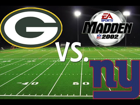 Madden NFL 2002: Season Game 2: Packers VS. Giants (XBOX)