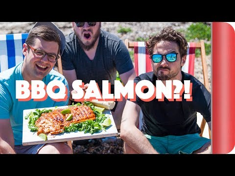How to BBQ Salmon Perfectly... Even on a Beach!
