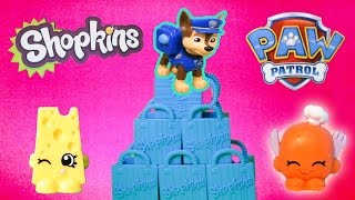 SHOPKINS BLIND BAGS Chase Paw Patrol Blind Bags Youtube Review