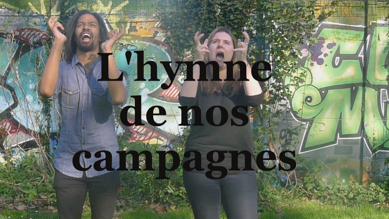 clip hymne nos campagnes tryo a