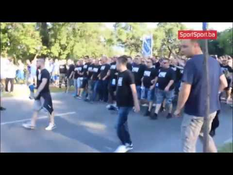 BHF Ultras march against Greece / 9.6.2017 Bilino Polje