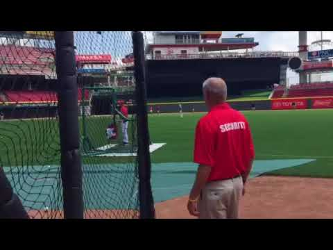 Cincinnati reds stadium tour