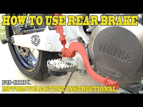 How to: Rear Brake for Wheelie Control