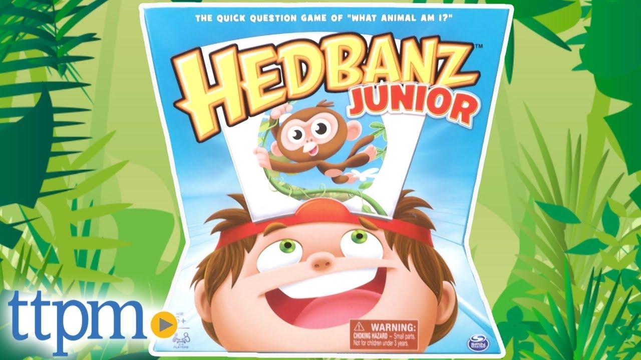Hedbanz Junior from Spin Master