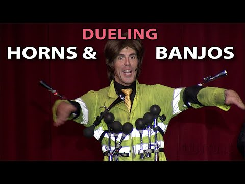 Dueling Horns and Banjos - AKA Deliverance like you've never seen it!