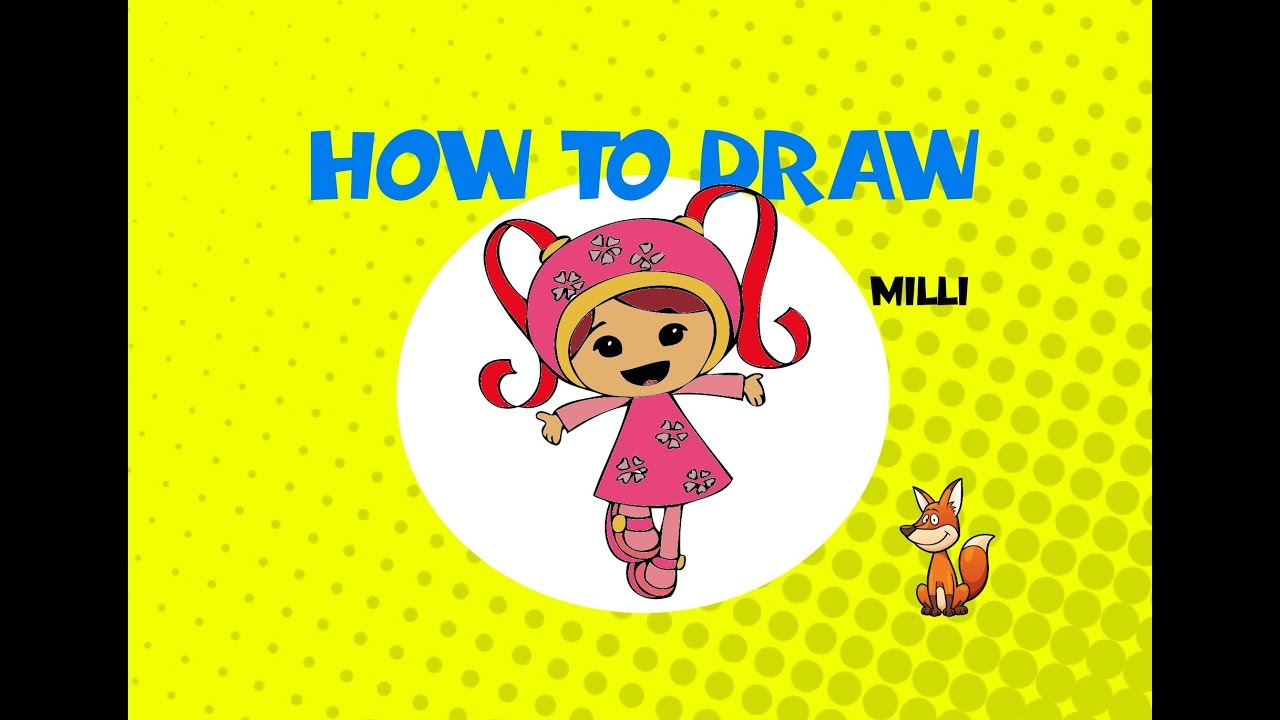 Terrific Team Umizoomi Milli Coloring y coloring pages