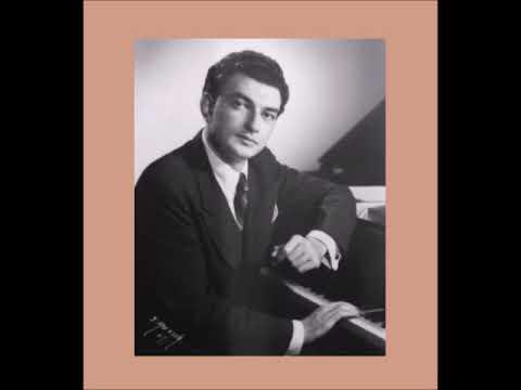 Raymond Lewenthal  plays Liszt 3 Petrarch Sonnets 8/29/1960 Brazil
