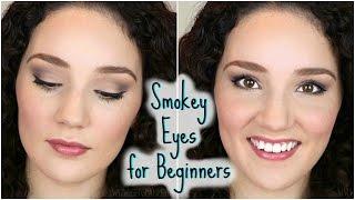 easy everyday smokey eye tutorial for beginners