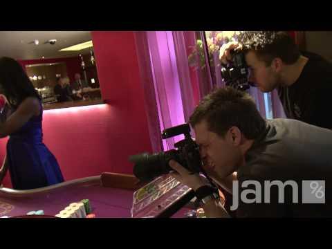 Jam96.com Behind the Scenes - Mayfair Casino Photographic Shoot